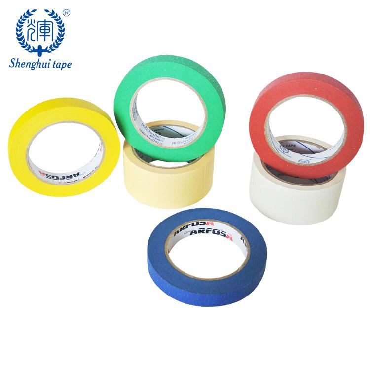 PVC Acrylic Fine Line Masking Tape High Temperature 10-50mm x 33m