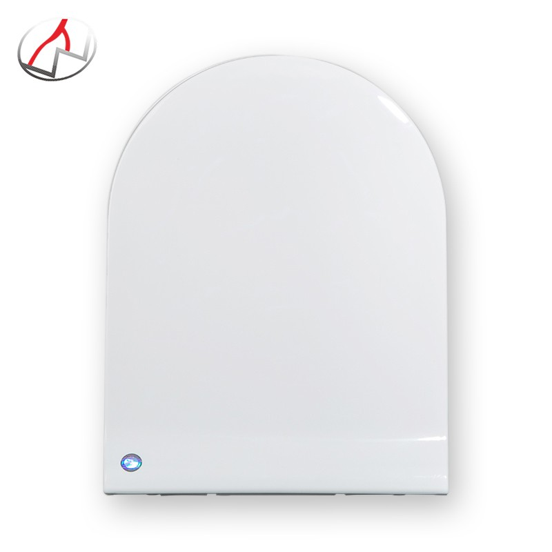 Soft closing WC seat cover durable never loosens sanitary wares selles toilet parts big U shape plastic toilet seat cover