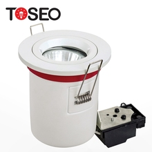 TOSEO MR16/GU10 IP65 HA CONDOTTO LA lampadina Alogena 35 w 50 w 3 w 5 w 6 w taglio 75mm 7.5 <span class=keywords><strong>cm</strong></span> fuoco nominale downlight