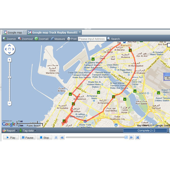 Web platform online GPS GPRS tracking system GPS tracking software platform based on google and open street maps