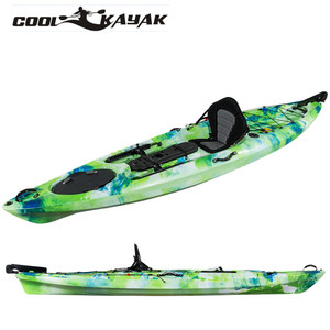 3.1~4m dace pro angler professional fishing kayak for sale Chinese plastic paddle kayak LLDPE HDPE material OEM ODM