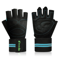 Best Quality Sport Outdoor Gym Gloves Oem Bike Riding Half Gloves Fitness Gym Gloves Grip Handschuhe