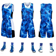 Reversible <span class=keywords><strong>basketball</strong></span> jersey <span class=keywords><strong>design</strong></span> blau farbe <span class=keywords><strong>basketball</strong></span> uniform set für männer