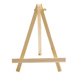 Hot sale top desk display felt letter table board wooden stand desktop photo easel for wedding