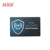 RFID blocking card for protecting your ID and credit card protector