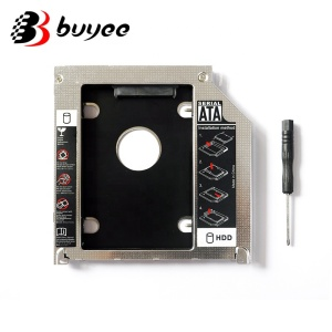 "Original 9.5mm Second HDD Caddy SATA to 3.0 SSD 2.5"" 12.7mm Hard Disk Driver for Macbook Pro 13"" 15"" 17"" SuperDrive"