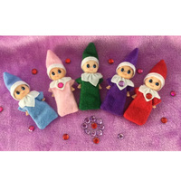 2018 Elf Baby plush Toy Christmas Elf on the Shelf Plush Dolls Boy Girl Figure Decoration Toys Christmas Xmas baby elf