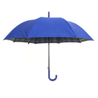 Top selling business men semi-automatic sunny rainy strong windproof waterproof custom logo golf umbrella 2 layer