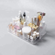 amazing value beauty clear cosmetic acrylic nail box storage