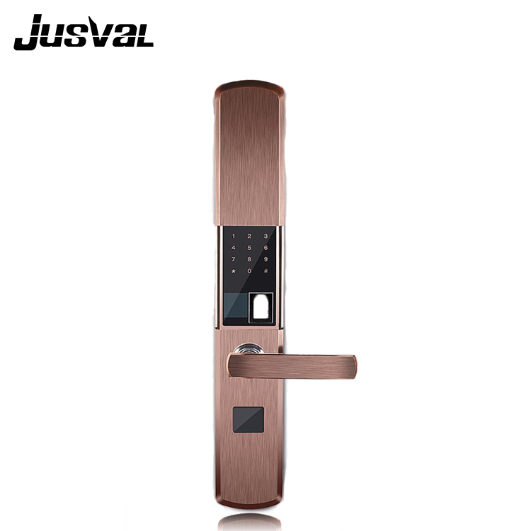 Hot sales portable lock parts finger print sliding wooden door lock system fingerprint bike lock
