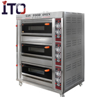 Bakery Equipment Gas Automatic Bread Baking Oven Prices /Complete Mexican Oven Machine For Sale