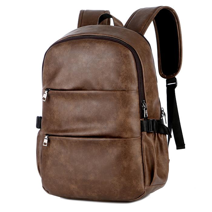 Venta al por mayor mochilas vintage cuero Compre online los