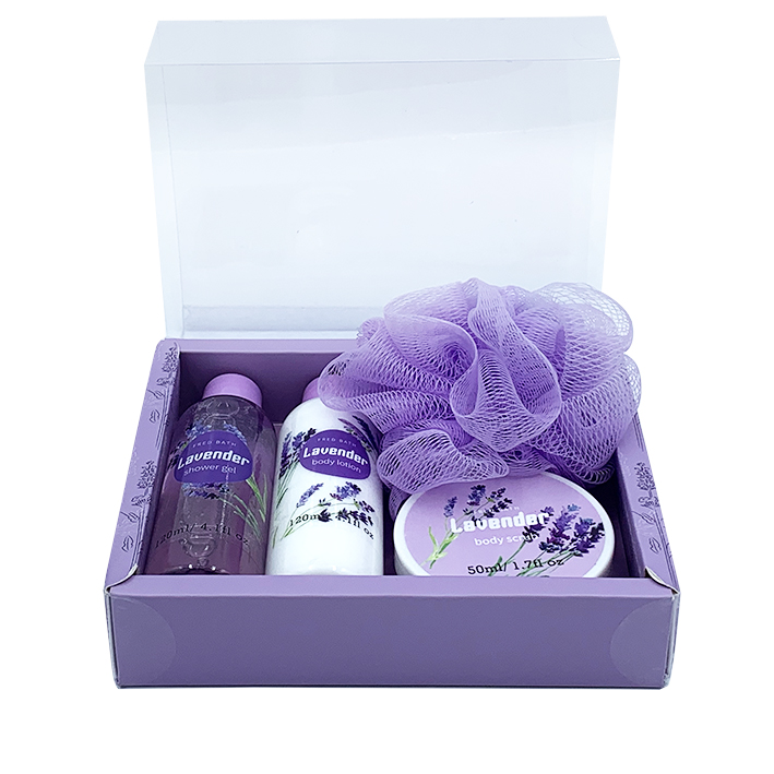 wholesale natural beauty body care body wash lotion scrub bath gift set