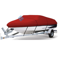 All weather protection polyester PVC boat cover