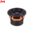 "JLD Adudio High Performance Car Subwoofer 8"" RMS600W with orange glossy finish aluminum basket for car audio speaker"