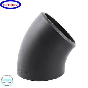 Fenry ASTM A234 WPB Galvanized Short Radius Long Radius 5D 45 Degree Elbow  Dimensions
