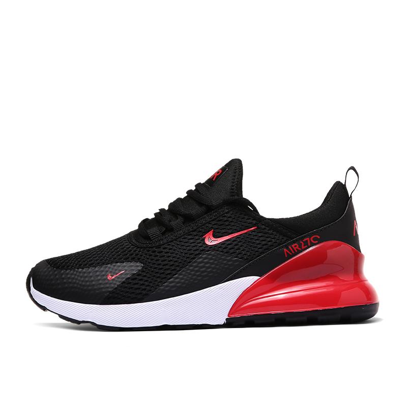 ODM OEM vente en gros maille coussin d'air supérieur chaussures de tennis hommes