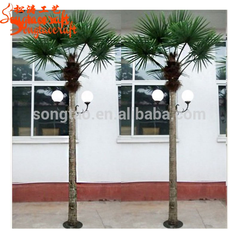 Led Palm Tree Light Outdoor Solar Lights Decorative Trees