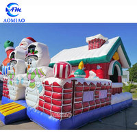 Hot sale inflatable bouncer house commercial christmas bounce house