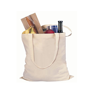 Factory Price Wholesale Eco-friendly Promotion Cotton Foldable Shopping Bag