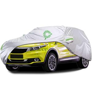 3 Layers Sedan Cover Waterproof Dustproof Scratch Resistant Outdoor Car Cover UV Protection