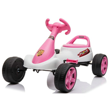 Go <span class=keywords><strong>Kart</strong></span> Per Bambini Ride on Car <span class=keywords><strong>Pedale</strong></span> Alimentato 4 Ruota Racer Giocattolo All'aperto