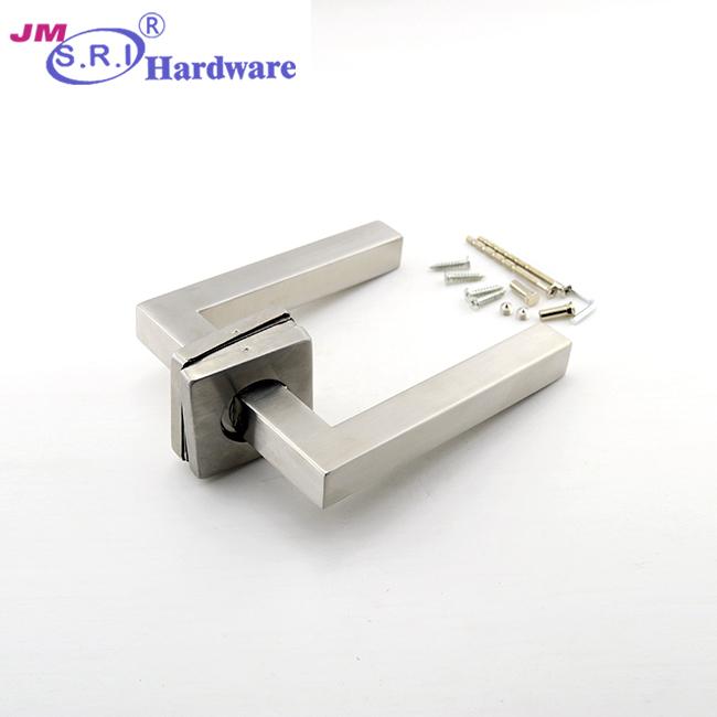 Bán buôn bán SUS304 nội thất cửa cửa lever xử lý thiết lập