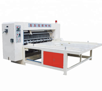 semi-auto rotary die cutting machine/corrugated pizza box making machine
