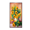 Large Modern Wall Art Abstract Sunflowers Giclee Gallery Oil Paintings Canvas Prints