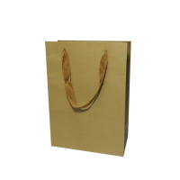 Cheap Printed 120gsm 25kg Kraft Paper Bag Zip Lock For Shopping From China