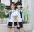 Y917 Summer Kindergarten Primary School Uniforms For Schoolboy And Schoolgirl