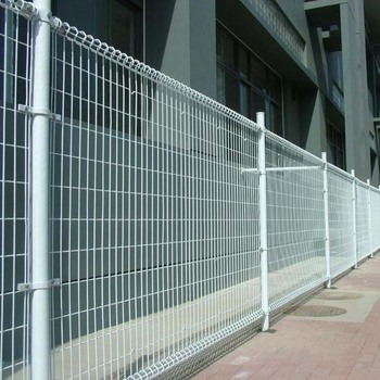 Powder Coated Ornamental Double Loop Wire Fence Roll Top Price Direct Factory Welded