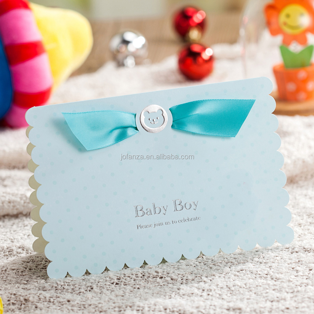 Wishmade Baby Shower Decorations Invitations With Envelope For Baby Birthday Party Sample Buy Baby Shower Decorations Invitations Invitation Cards