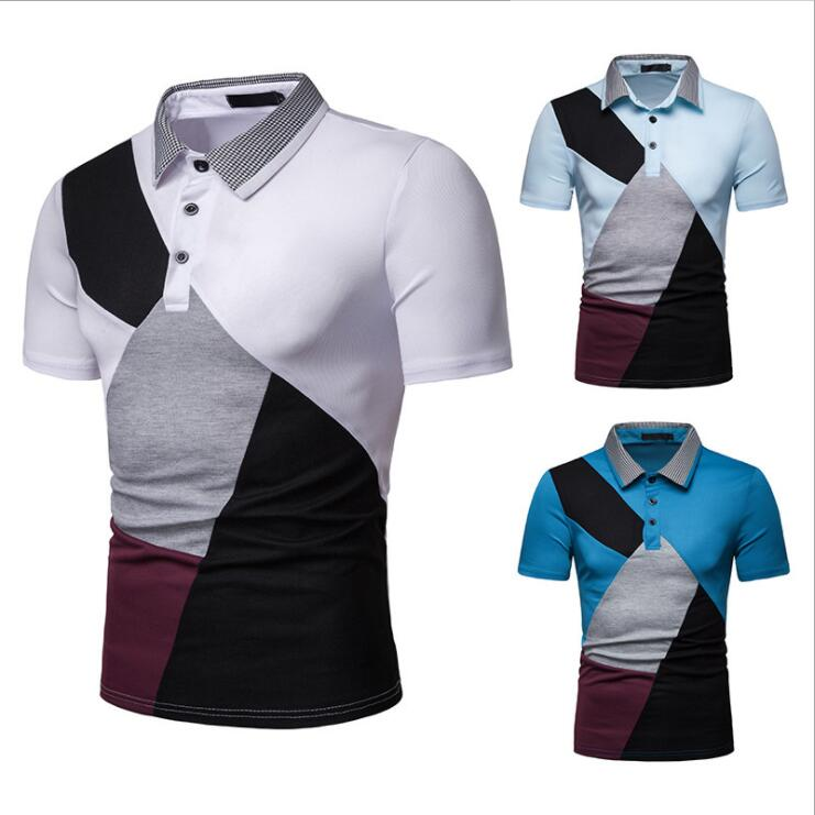 One Piece Drop Shipping Dry Fit Polyester Spandex Fashion Polo Mens T Shirts