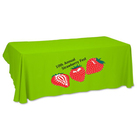 Company plastic table cover Table throw Trade show table cover