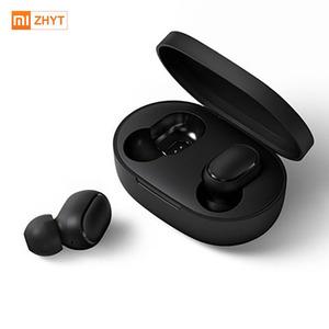 Image of 2019 Original mijia mi AirDots True wireless BT 5.0 Voice control 12 Hours Battery Life mini smart bluetooth headset