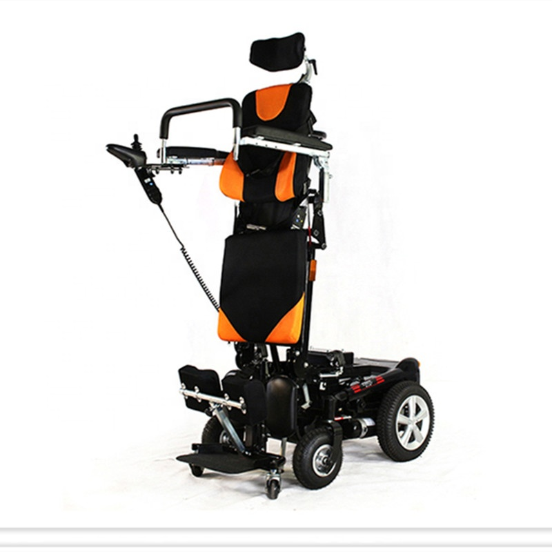 Factory Outlet 2019 Novo produto power lift up assento reclinável pé de Cadeira De Rodas