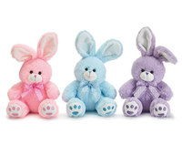 Assorted Colors Rainbow Rabbit Toy Plush Little Bunny Vase Hugger Set Plush Toy Rabbit