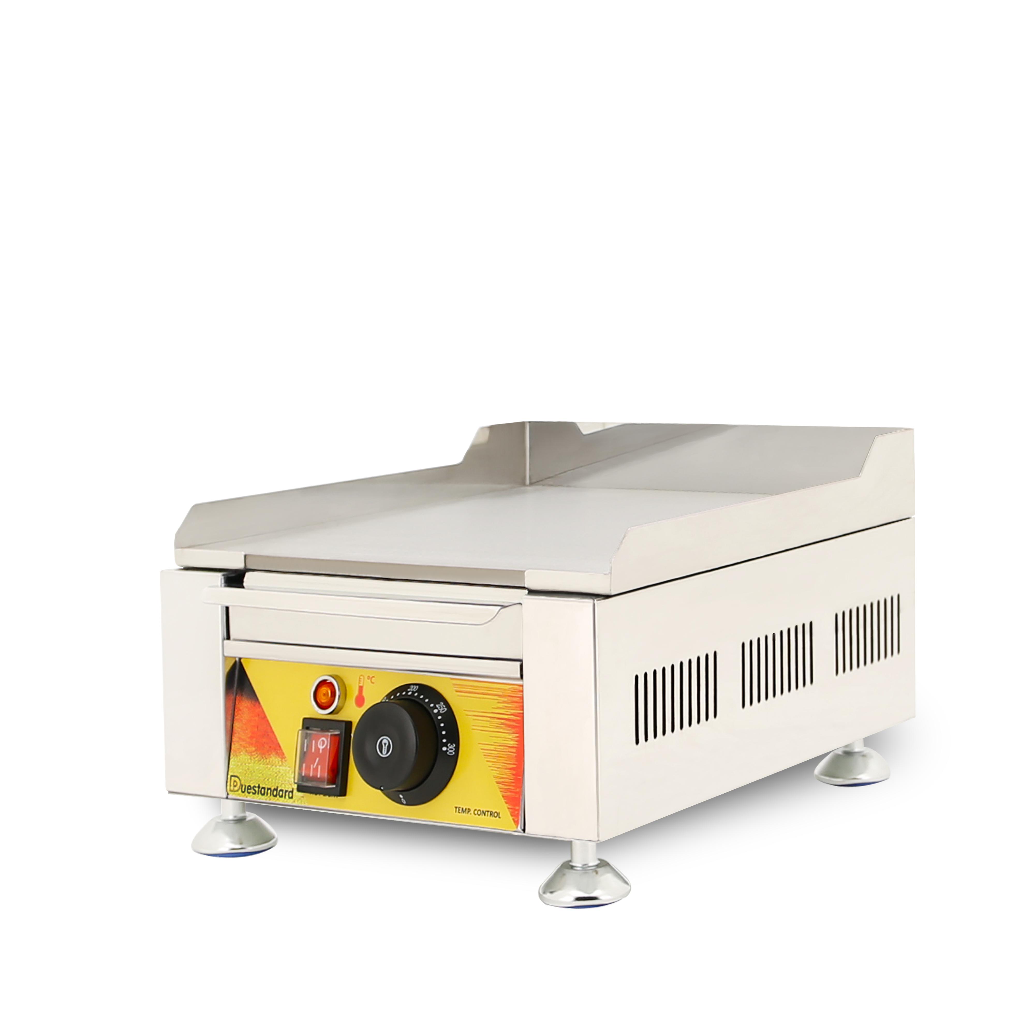 ステンレス鋼 201 電気鉄板焼きグリドル機グリルフラットパン