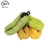 Water Sport Towable Tube Accessories Heavy Duty Towable Ropes 1-2 Rider 2K Tow Rope