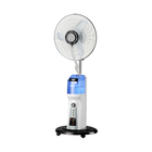16 Inch Water Cooling Air Cooler Rechargeable Mist Fan in Home