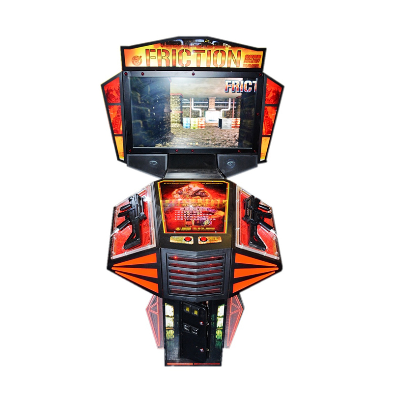 Yonee Coin Operated Simulator Indoor Shooting Electronic Boy Video Game Machine