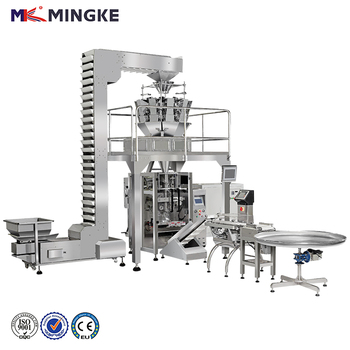 Automatic large vertical snack peanut/potato chips packing machine