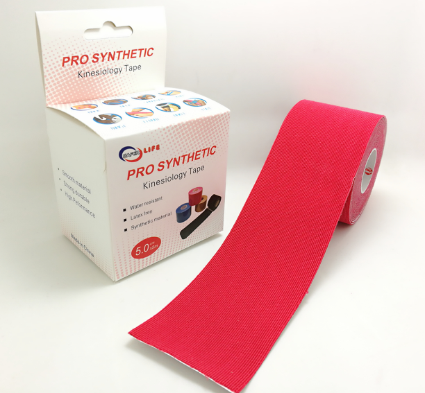 Shine tape with strong adhesive Synthetic kinesiology tape 5cm *5m whole sell stock available