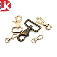 Custom Gold Tone Metal Lobster Claw Clasp Jewelry Findings 20mm Swivel Trigger Hook
