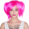 Party supplies vendor women hair wig synthetic lace front pink wig