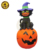6ft Inflatable Halloween Party Decoration Black Cat on Pumpkin
