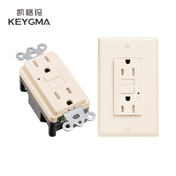 Kegyma Over Voltage Protection Safety Guarantee GFCI Receptacle 15 Amp
