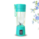 Portable mini usb smoothie fruit ice juice blender glass juicer cup blender mixer electric bottle for study camping travelling