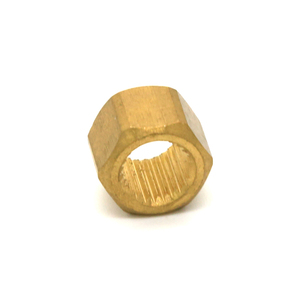 DIN6923 factory low price knurled insert brass hex flange weld threaded nut